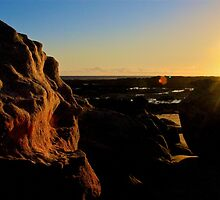 Sunset sparkle by h2oImagery