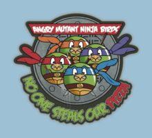 Angry Mutant Ninja Birds Kids Tee