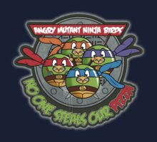 Angry Mutant Ninja Birds Kids Tee