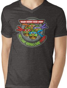 Angry Mutant Ninja Birds Mens V-Neck T-Shirt