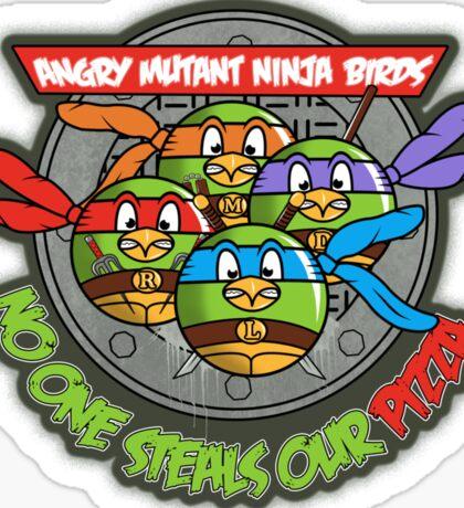 Angry Mutant Ninja Birds Sticker