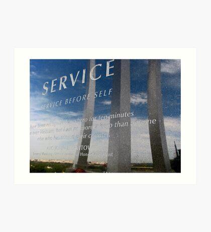 United States Air Force Memorial - Washington, DC Metro area Art Print