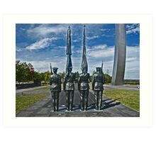 United States Air Force Memorial - Washington, DC Metro area Art Print