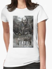 Until Dawn - Psycho Poster Womens Fitted T-Shirt