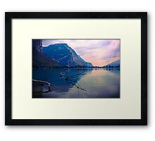 Morning Awakes Framed Print