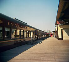 Train station in New Hope, PA by jamiecwagner