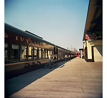 Train station in New Hope, PA Photographic Print