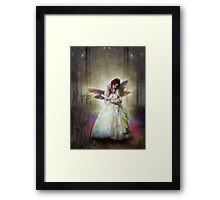 The Magic quill Framed Print