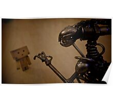 Alien Vs Danbo Poster