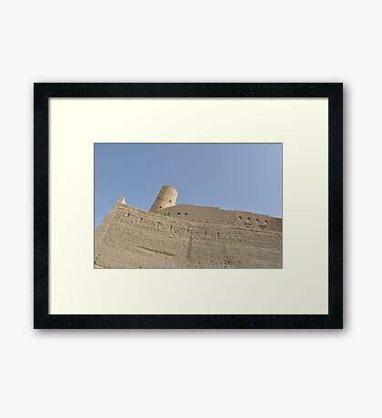 Bahla fort Framed Print