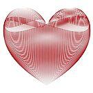 Calligraphic Heart by suranyami