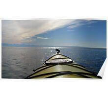 Kayak summer Poster