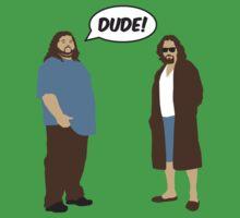 The Dudes (Lost / Big Lebowski Shirt)  Kids Tee