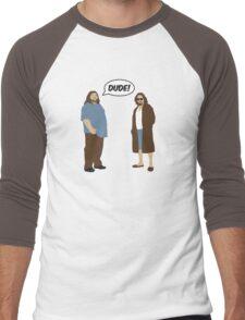 The Dudes (Lost / Big Lebowski Shirt)  Men's Baseball ¾ T-Shirt
