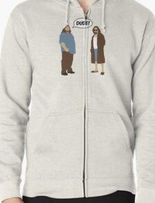 The Dudes (Lost / Big Lebowski Shirt)  Zipped Hoodie