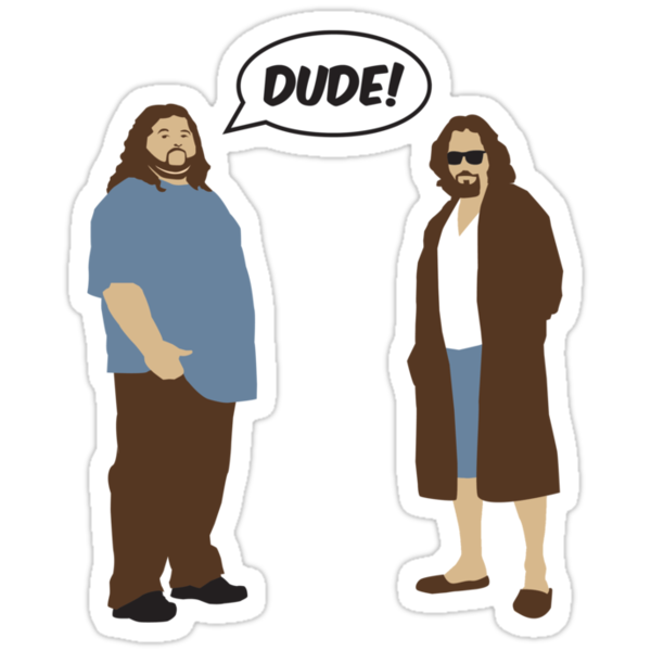 The Dudes (Lost / Big Lebowski Shirt)  by IG-HateyHate