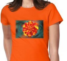Marigold Reflections Womens Fitted T-Shirt