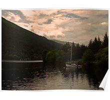 Resident Boat. Poster