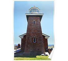 Lighthouse Point- Santa Cruz Poster