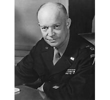General Dwight Eisenhower Photographic Print