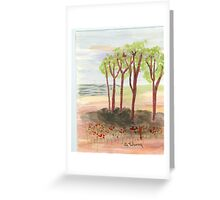 copes Greeting Card