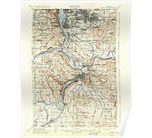 USGS Topo Map Oregon Oregon City 282774 1914 62500 Poster
