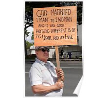 Defender of Traditional Marriage .5 Poster