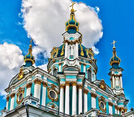 St Andrew's Church by Yelena Rozov