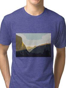 Layer Gold on El Capitan Tri-blend T-Shirt