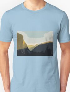 Layer Gold on El Capitan Unisex T-Shirt