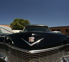 Classic Caddy Hearse by dotstarstudios