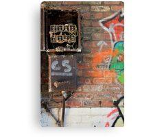 Broken Box Canvas Print