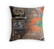 Broken Box Throw Pillow