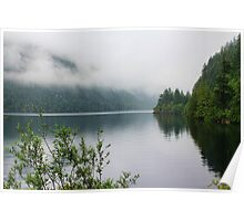 Kennedy Lake, Vancouver Island, BC, Canada Poster
