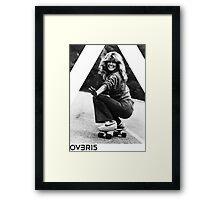 OVERFIFTEEN SKATING ANGEL ( FARRAH FAWCETT ) Framed Print