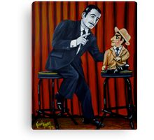 The Ventriloquist Canvas Print