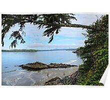 Clayoquot Sound, Pacific West Coast, Vancouver Island, BC,Canada Poster