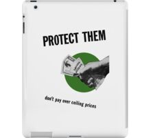 Don't Pay Over Ceiling Prices -- WW2 iPad Case/Skin