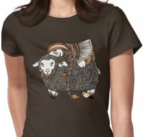 Shonaghs Sheep Womens Fitted T-Shirt