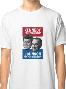 Kennedy And Johnson 1960 Election Classic T-Shirt