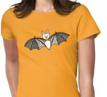 Happy Batty Womens Fitted T-Shirt