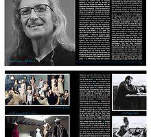 Annie Leibovitz Artist Zine Layout by Danny Huynh