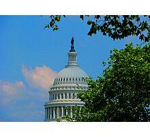 U. S. Capitol Building Photographic Print