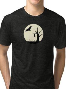 Moonlight Silhouette Tri-blend T-Shirt