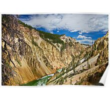 Yellowstone Canyon Poster