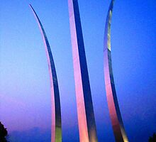 United States Air Force Memorial - Washington, DC Metro area by michael6076