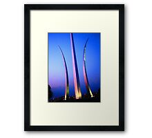 United States Air Force Memorial - Washington, DC Metro area Framed Print