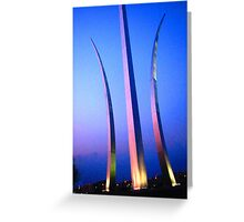 United States Air Force Memorial - Washington, DC Metro area Greeting Card