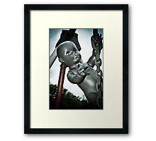 Cling Framed Print