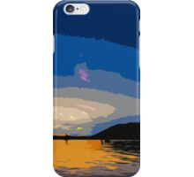 Diving into the Sun iPhone Case/Skin